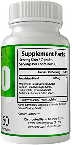Vexgen Keto Pills Advance Weight Loss Supplement, Appetite Suppressant with Ultra Advanced Natural Ketogenic Capsules, 800 mg Fast Formula with BHB Salts Ketone Diet Boost Metabolism and Pulls Focus 3