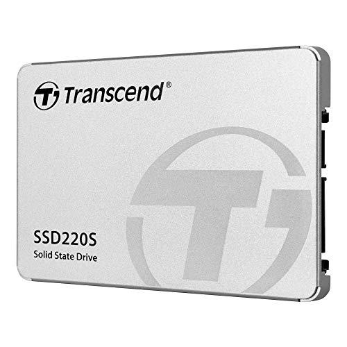 Transcend TS240GSSD220S SSD Interno SATA III 6 Gb/s, 240GB