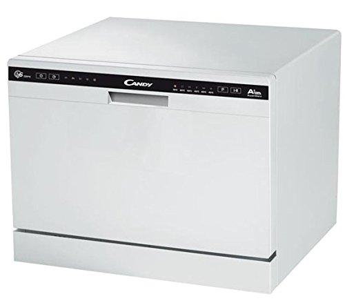 Candy CDCP 6/E Lavastoviglie, 6 Coperti, 51 dB(A), 438x550x500 mm, colore Bianco