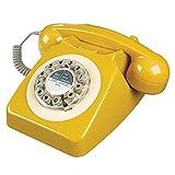Rotary Design Retro Landline Phone for Home
