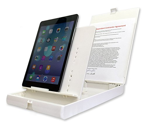 ScanJig Pro - Document Scanning Stand for Phones & Tablets - Extended Tablet Support (iPad Pro). Helps The Blind,Visually Impaired,Fine Motor Difficulties/Tremors