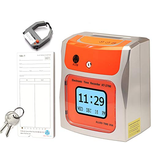 Touch Free Small Business Time Clock AT-2700