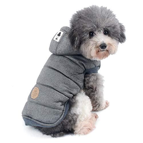 Ranphy Chaquetas de Forro Polar de algodón para Perros pequeños, con...
