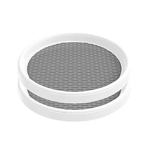 PPRETIRENO Lazy Susan Turntable 10 Inch, 2 Pack Lazy Susan...