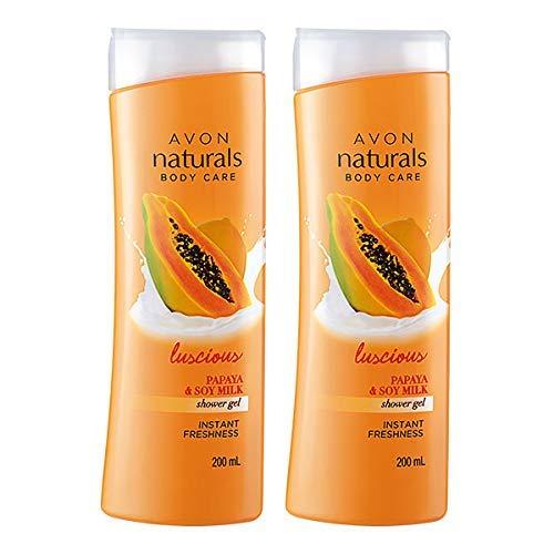 Avon Naturals Papaya Whitening Shower Gel (set of 2 of 200ml each)