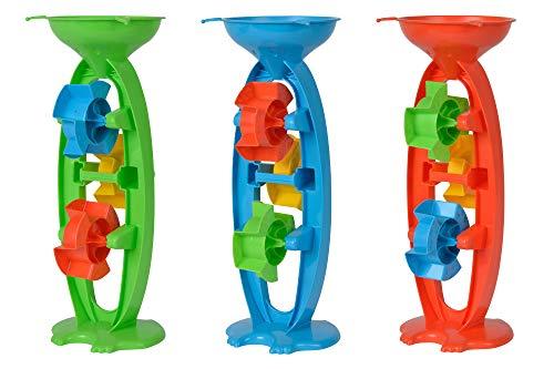 Androni 7106631-Mulino a Sabbia, con 3 rotelle, Circa 35 cm, Colore Assortiti, 711.201.0
