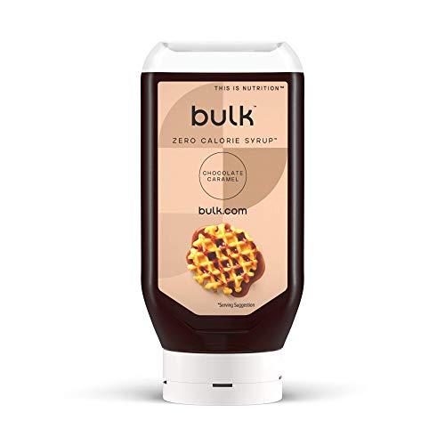 Bulk Kalorienfreier Sirup, Kalorienfrei, Zuckerfrei, Schoko-Karamell, 400 ml, Verpackung Kann Variieren