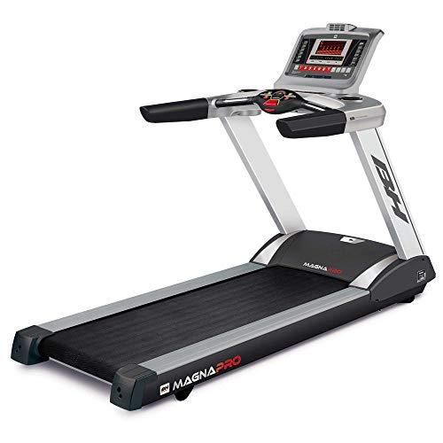 BH Fitness MAGNA PRO G6508N - Tapis Roulant - Elettrico - Inclinazione elettrica max 15% - Vel. Max....