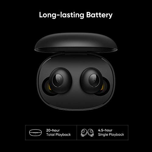 (Renewed) realme Buds Q in-Ear True Wireless Earbuds (Black) 9