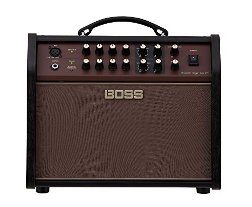 BOSS Acoustic Singer Live LT ACS-LIVE LT Acoustic Guitar and Vocal Amplifier, for acoustic/electric guitar and a vocal mic