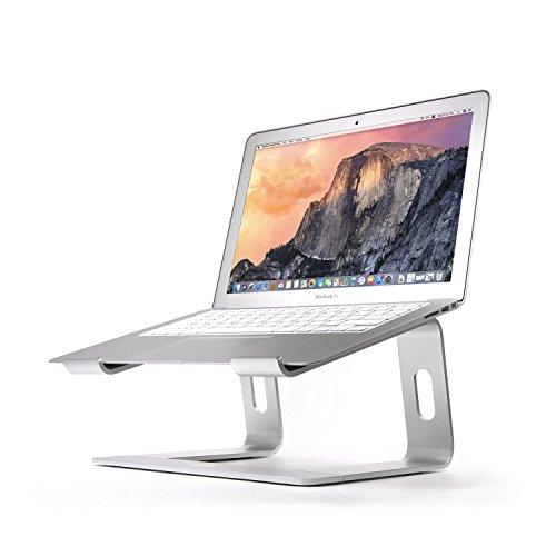 BoYata Laptopständer: Demontierbar mit Belüftung, Tragbarer Notebook Ständer Kompatibel mit Laptop (10 inch~15.9 inch) MacBook Pro/Air, HP, Dell, Lenovo, Samsung, Acer, Huawei MateBook (Sliver)