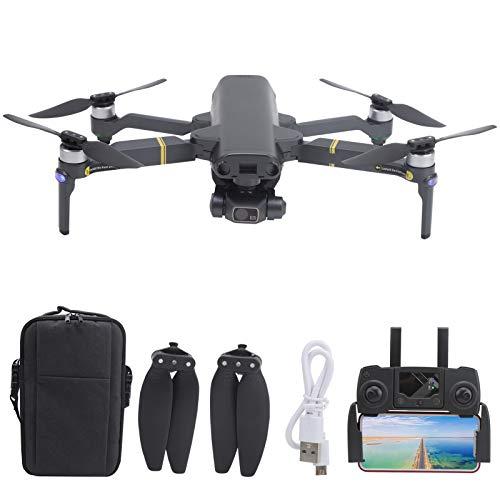 SUCIE Mini Drone, GPS Brushless Motor Brushless ESC Anti-Shake Meccanico Auto-stabilizzante Gimbal Stabilizzatore a 3 Assi Drone Pieghevole Doppia Fotocamera per Esterni