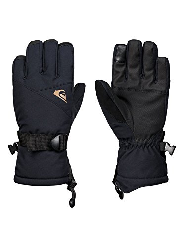 Quiksilver Mission Youth, Gloves Bambini e Ragazzi, Black, M