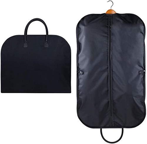 iwill CREATE PRO - Borsa per abito da viaggio pieghevole, borsa da viaggio per indumenti, copri abito, 100 cm, nero