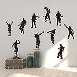 Vercico Character Action - Adhesivo Decorativo para Pared, diseño de garabatos (envío más rápido)