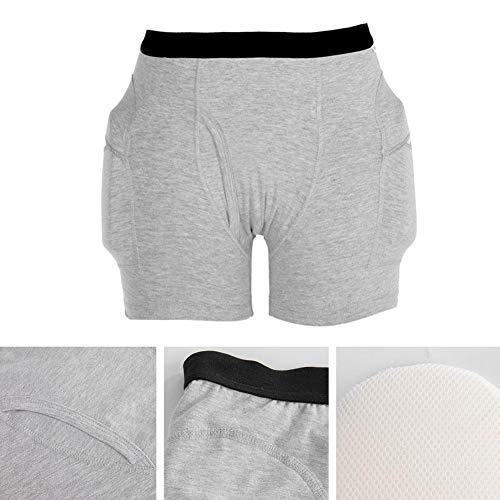Pantaloncini protettivi,pantaloncini protettivi riutilizzabili lavabili traspiranti per snowboard...