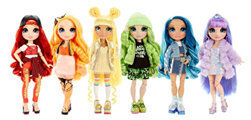 Image 5 - Rainbow High Poupée Mannequin - Skyler Bradshaw – Poupée thème bleu avec tenues luxueuses, accessoires et socle - Série 1 - Parfait pour les filles de 6 ans et plus