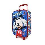 Karactermania Mickey Mouse Music - Maleta Trolley Soft 3D, Multicolor