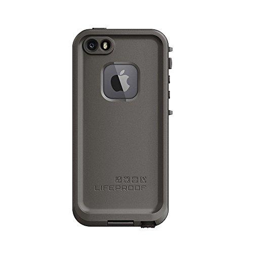 LifeProof FR SERIES Waterproof Case for iPhone SE (1st gen - 2016) and iPhone 5/5s - Retail Packaging - GRIND (DARK GREY/SLATE GREY/SKYFLY BLUE)