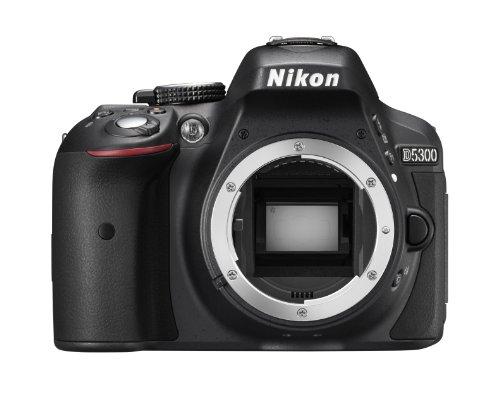 Nikon D5300 Corpo Fotocamera Digitale Reflex, 24.1 Mbps, LCD HD da 3' Regolabile, SD da 8 GB, 200x...
