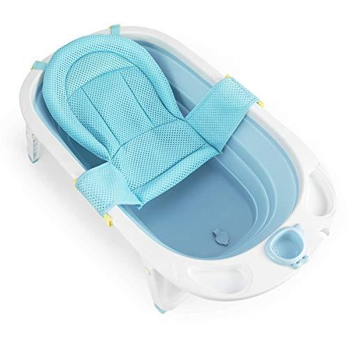 Fascol | Opvouwbaar babybadje | Met veiligheidsbadje en afvoerplug | 0-36 maanden