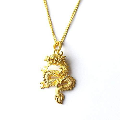 PRIMAGOLD(プリマゴールド) 24金メンズジュエリー 龍モチーフ(ドラゴン) 純金ペンダント ネックレス紐付...