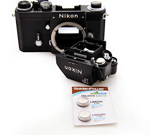 (2 Count) Nikon F Photomic Light Meter 1.5v LR625G...