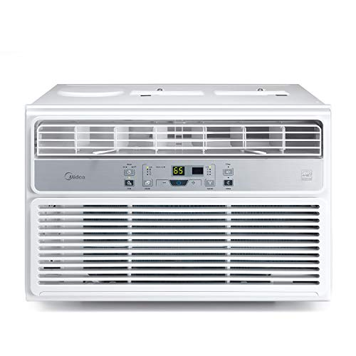 Midea Window Air Conditioner 6000 BTU Easycool AC (Cooling, Dehumidifier and Fan Functions) for Rooms up to 250 Sq, ft. with Remote Control 6,000
