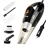 HOTOR Car Vacuum Cleaner with High Power, Portable & Handheld Vacuum Cleaner Corded with Mutiple Accessories for All-Round Cleaning