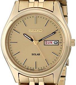 Seiko Men's SNE036 Stainless Steel Solar Watch 26