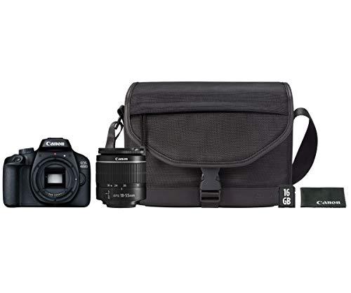 Canon Cmara Reflex EOS 4000D + 18-55 DCIII + SD16GB