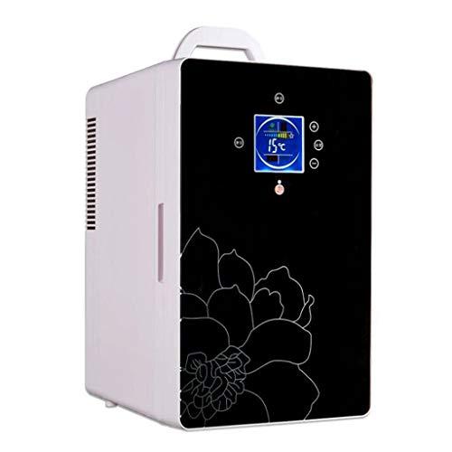 Frigo Portatile, Congelatore per frigorifero portatile da 16 litri, 12 V / 220V (colore : NERO)