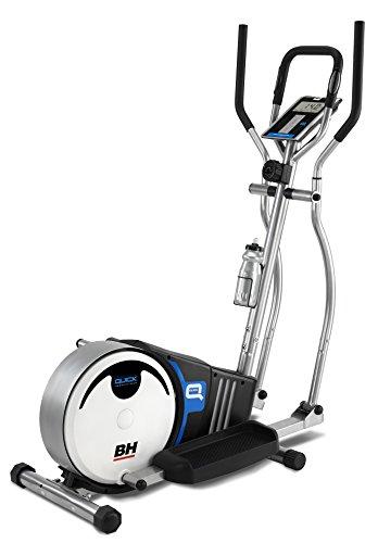 PROACTION Bicicleta Elíptica BH Quick. Sistema inercial 8kg. Freno magnético. Zancada...