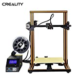 Creality Open Source CR-10 3D Printer All Metal Frame 12x12x15.5 Inch Build Volume and Heated Bed Includes Glass Bed