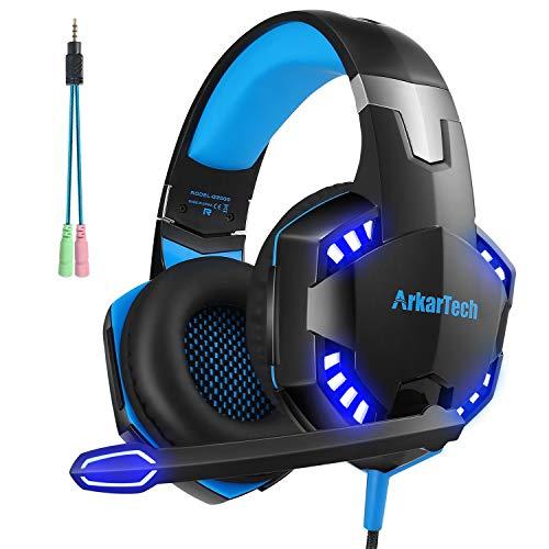 ARKARTECH G2000 ゲーミング ヘッドセット ヘッドホン ヘッドフォン ゲームヘッドセット マイク付き ゲーム...