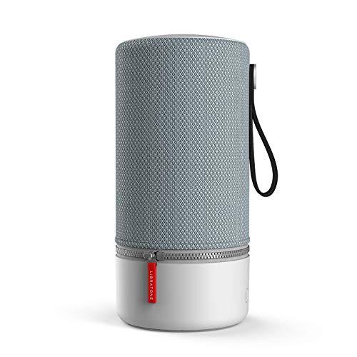 Libratone ZIPP 2 Smart Wireless großer Lautsprecher (Alexa Integration, AirPlay 2, MultiRoom, 360° Sound, Wlan, Bluetooth, Spotify Connect, 12 Std. Akku) frosty grey