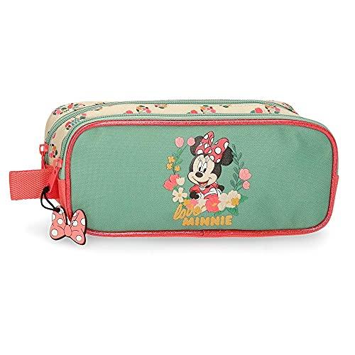 Disney Minnie Golden Days Astuccio doppio scomparto Multicolore 23 x 9 x 7 cm Poliestere
