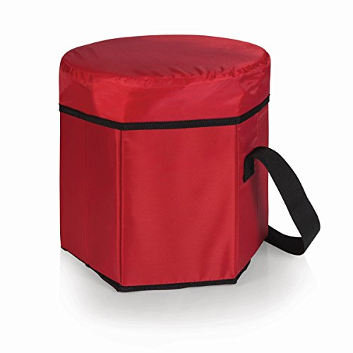 ONIVA - a Picnic Time Brand Bongo Insulated Collapsible Cooler, Red
