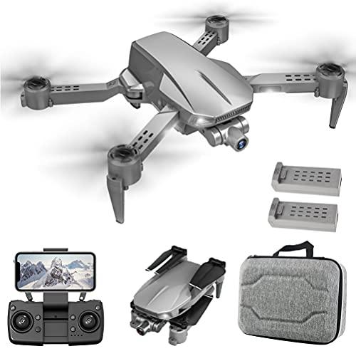 FXQIN Drone Professionale con Trasmissione di Immagini 5G, Drone GPS con Telecamera ESC 4K, droni Pieghevoli 5G WiFi FPV Trasmissione, Drone GPS per Adulti, Fotocamera ESC a 90
