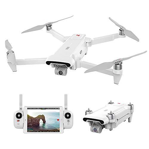 Goolsky Droni FIMI X8 SE GPS 5KM FPV con Gimbal a 3 Assi 4K Camera GPS 33mins Tempo di Volo RC Drone Quadcopter RTF