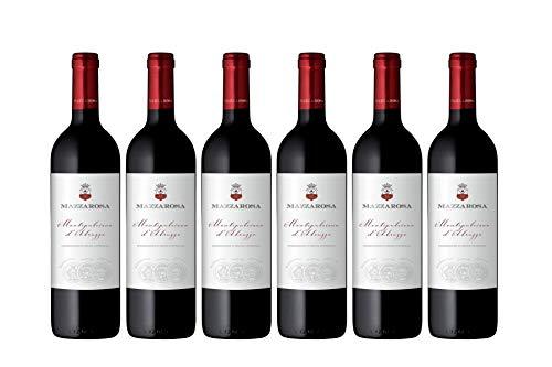 Vino Rosso Montepulciano d'Abruzzo D.O.C. 2017 Abruzzo Italy cantine Mazzarosa box da 6 bottiglie da 0,75 l