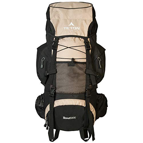 TETON Sports Scout 3400 Internal Frame Backpack;...