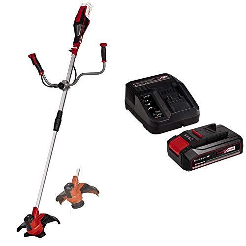 Einhell 3411310 Decespugliatore a Batteria, Black/Red + 2,5 Ah Power X-Change Batteria