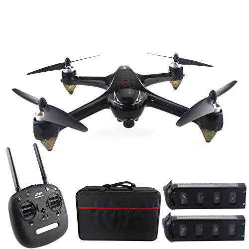 LDDZB Drone 8.0mp, 5g WiFi GPS Motor Brushless, 1080P 160  Grande Angolo grandangolare HD FPV Drone remoto, Seguimi Away/Pulsante di Ritorno, 2 batterie Adatte per Principianti per Adulti