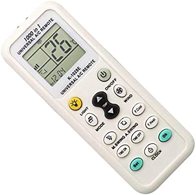 10 meters long distance remote control, powerful enough for you to operate in a long distance by this AC Remote Control. Large LCD screen for easy setting and operation. Comfortable handle feel, convenient to use. Control most brands and models of ai...