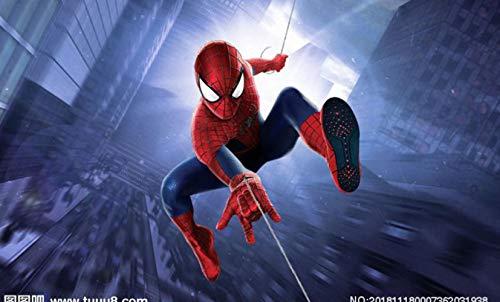 Carta Da Parati Per Bambini Personalizzata, Spider-man, Murales 3d Per Camerette Per Bambini...