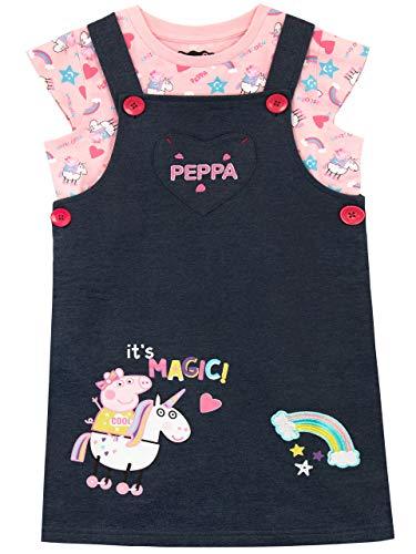 Peppa Pig Set de Overol para Niñas Unicornio Multicolor 4-5 Años