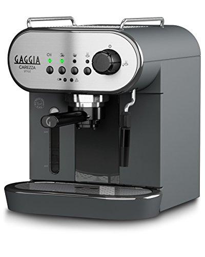 Gaggia Carezza Style Macchina da Caffè Espresso Manuale, per Macinato e Cialde, RI8523/01