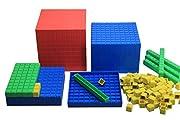 WISSNER® aktiv lernen - Dienes Dezimal Rechensatz 121 Teile - RE-Plastic°