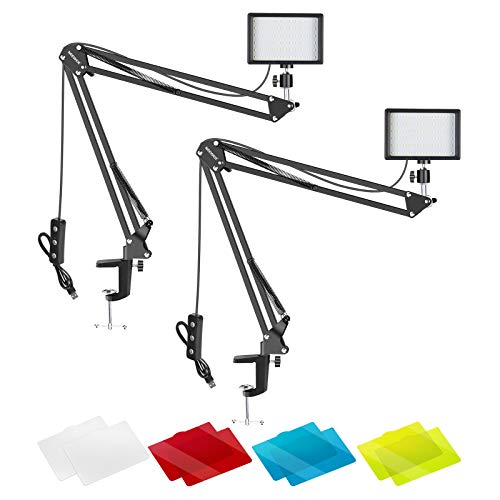 Neewer Video Conference Lighting Kit for Zoom Call Meeting/Remote...